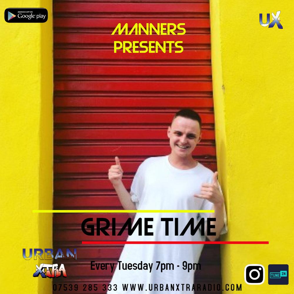 Grimetime, Tuesday 7pm - 9pm