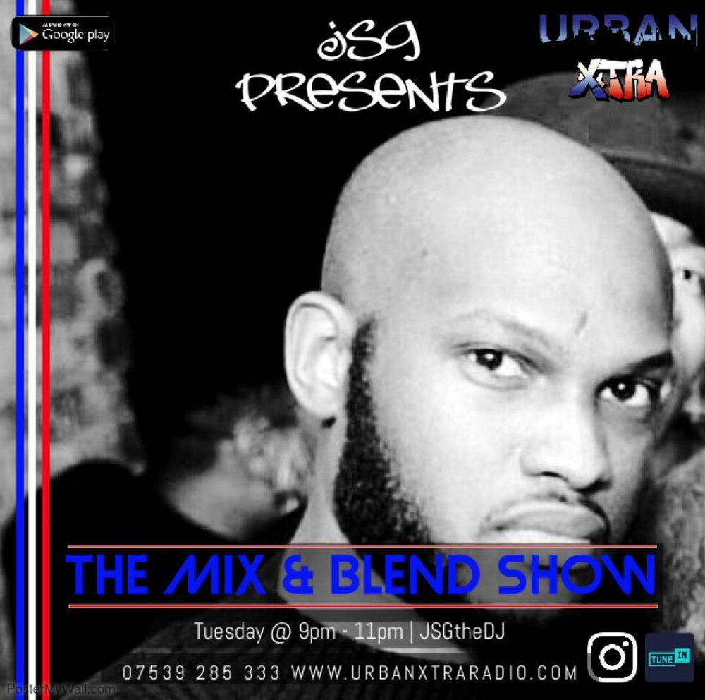 The Mix & Blend Show, Tuesday 9pm - 11pm