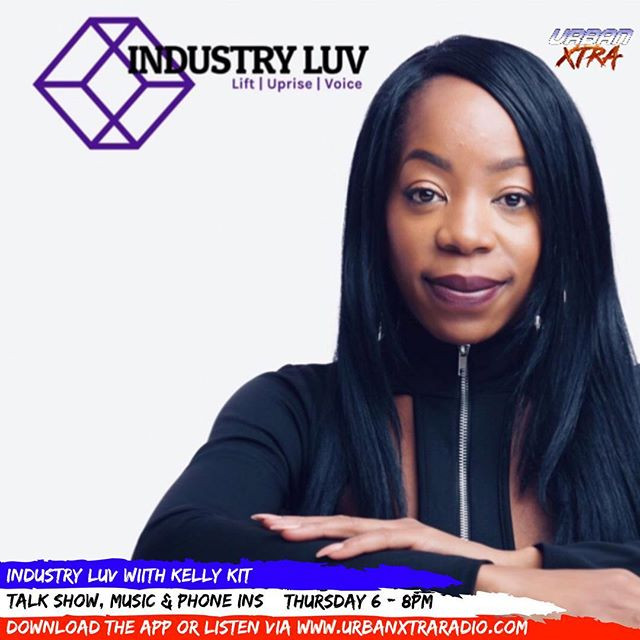 Excited to announce a new show this coming Thursday @thisiskellykit brings you 'Industry Luv' a tall show where you will hear some great insight into the creative industries with guests and phone ins. Tune in this Thursday from 6pm 🎉 . . . . . #creative #industry #art #talent #style #urbanxtratakeover #music #hiphop #rnb #dancehall #afrobeat #talkshow #guests #interviews #lifestyle #trending #shoutoutforshoutout #likeforlike