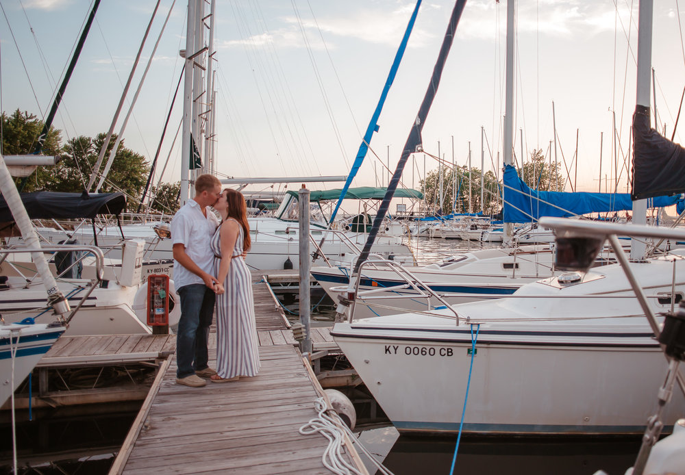 Kentucky boat dock engagement
