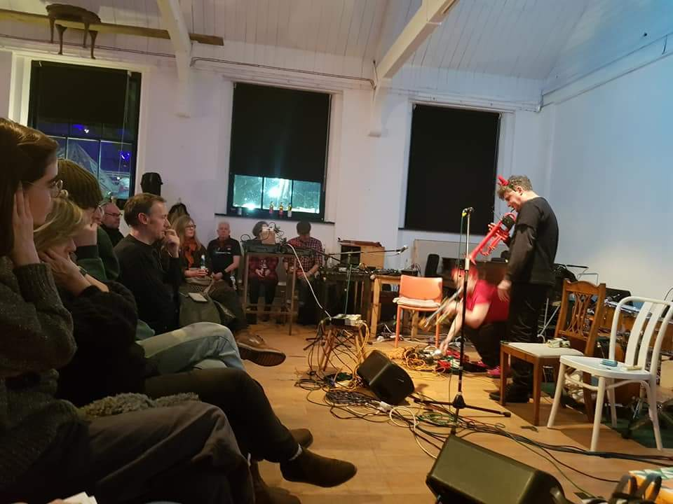 "February 2018 - My duo with Andy Digram ""Two Horns"" had our first gig , and I was on resonance fm."