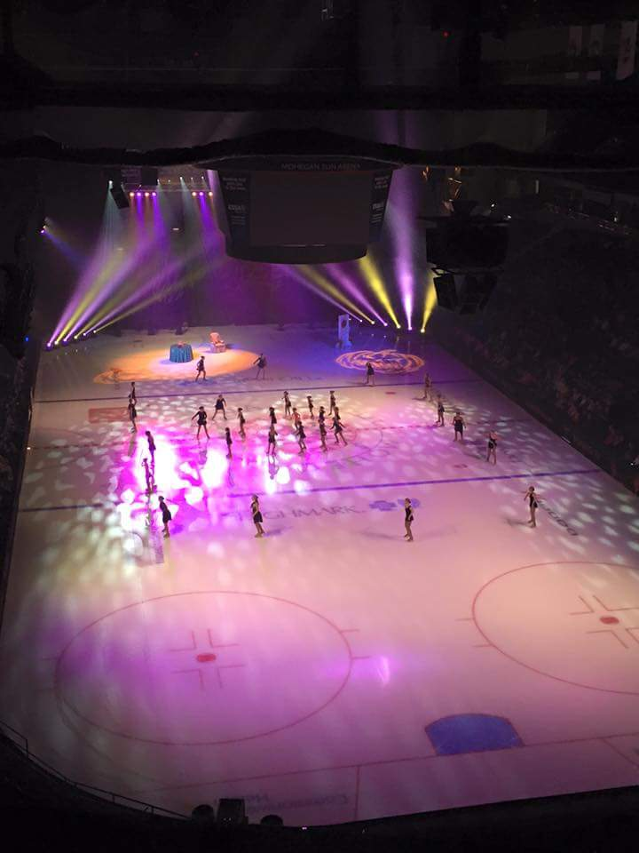 DCFSC preforming during Nancy Kerrigan's Halloween on Ice.