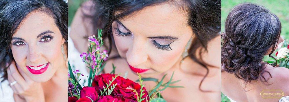 close up details of bridal hair and make up Anna Marie at Brookgreen gardens-1.jpg.jpg