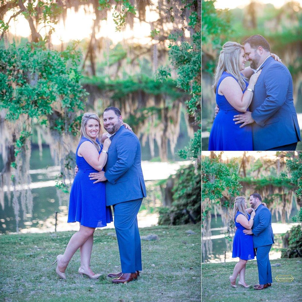 happy embracing couple at wachesaw plantation.jpg
