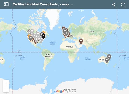 KonMari Consultant Map — The Tidy Bungalow - Phoenix, AZ