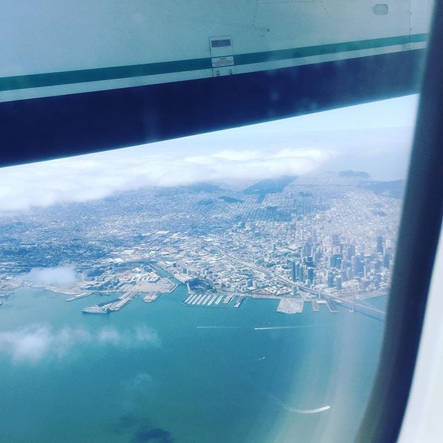 Bye bye San Francisco! Lisa is headed to Portland to take a workshop on the program Isadora with Dawn Stoppiello!