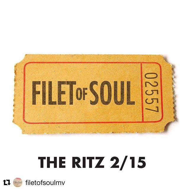 You've got 3 more nights to party with us before we close for a few short weeks. PhillyD + the Roundup @ 7:45P. @filetofsoulmv @ 10P :) #theritzmv