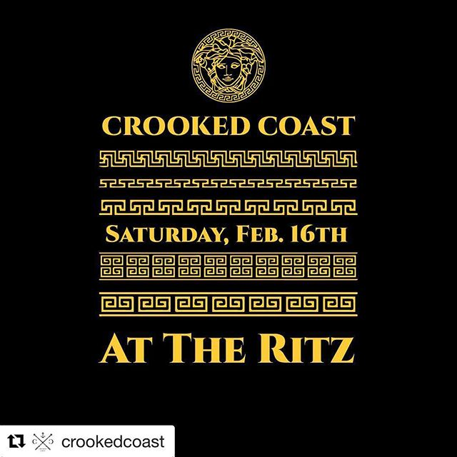 Night 2 out of 3 before we close shop for a deep clean. CROOKED COAST stops by for a party tonight at 10. ROSIE'S RITZY REVUE gets it goin' at 7. 😎 #theritzmv #Repost @crookedcoast with @get_repost ・・・ 💎🔊come hang with the gang