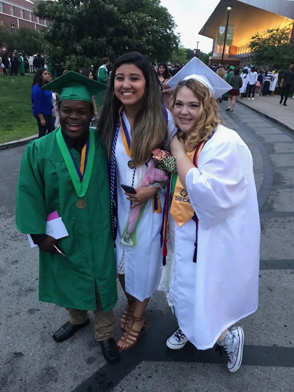 Hillsboro High School Graduation, May 2017 Off to college!