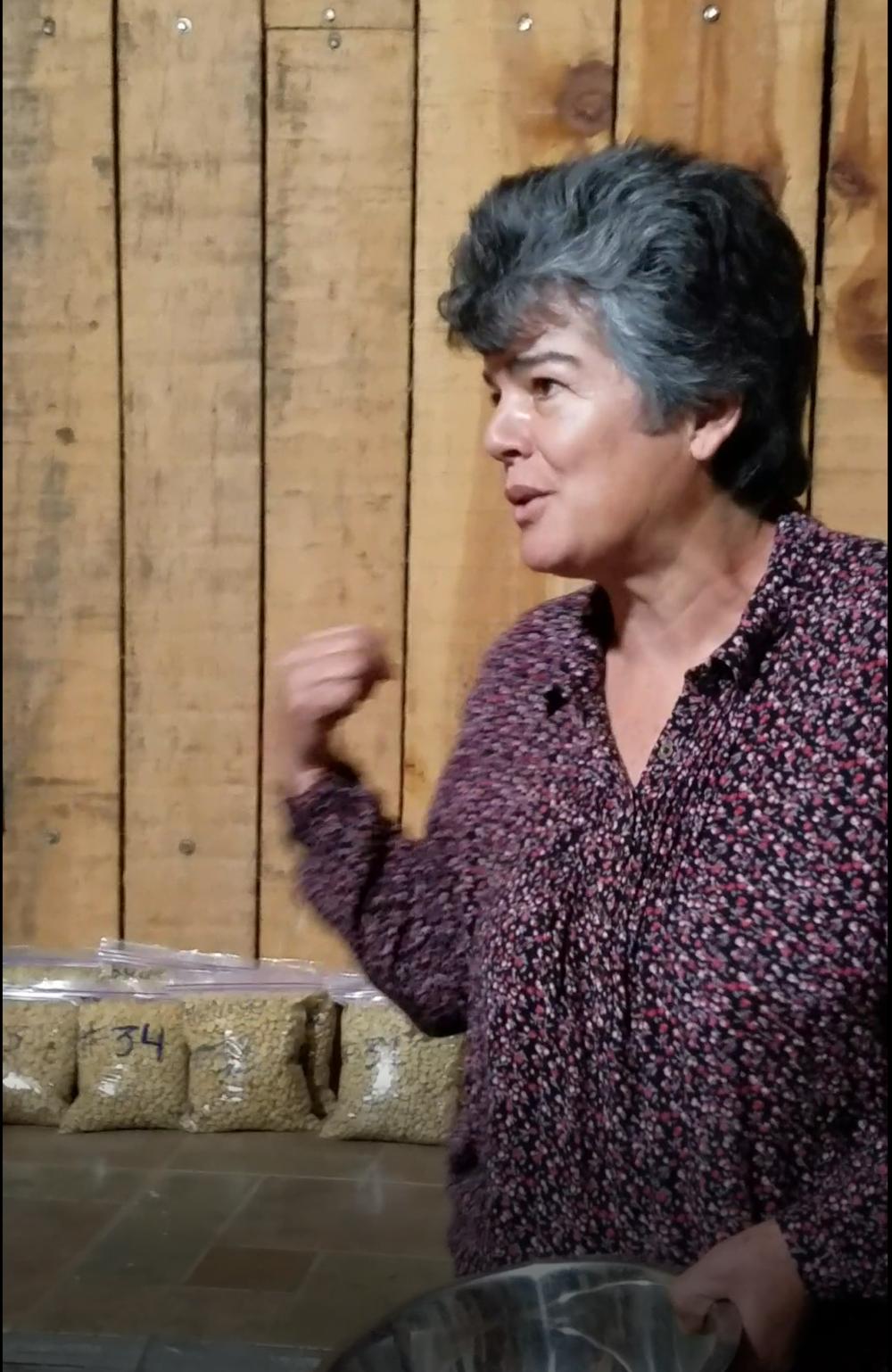 Dona Maria Elena of Finca Salaca