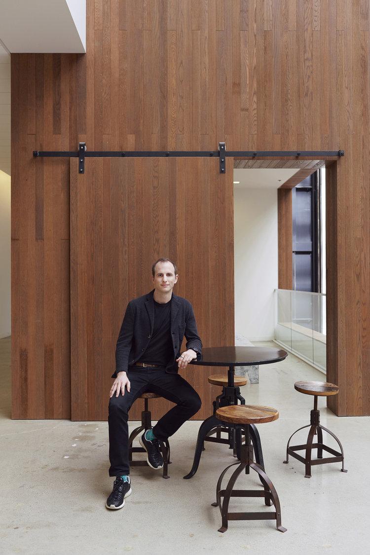 Dagmar Studios Portrait Photography | Airbnb Co-Founder Joe Gebbia | Helena Price