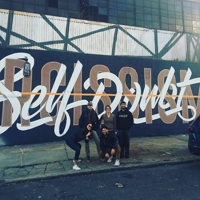 #tbt to last week's Delivery Team off-site, and the Brooklyn Street art walking tour they went on. #greatdayatmedici