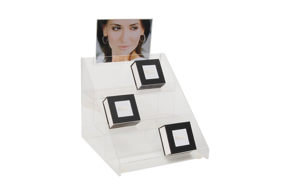 CLEAR ACRYLIC 3 Step Display.jpg