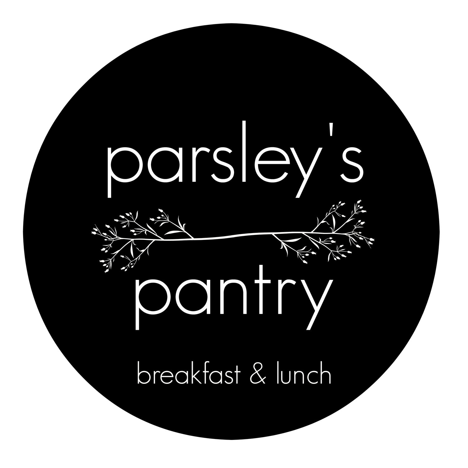 Menu Parsley S Pantry