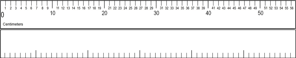 CM  56 cm Number Line Numbered and Blank.png