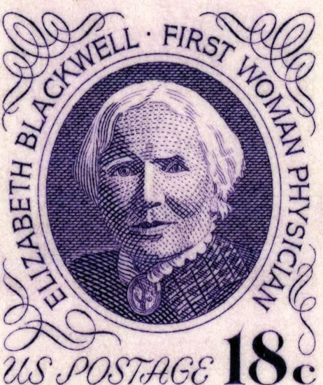 First Woman Doctor in USA - Dr. Elizabeth Blackwell (1821-1910)