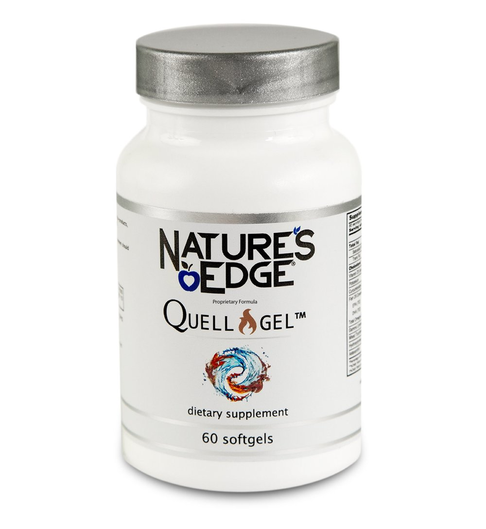 Quell the Fires of Inflammation   with   Quell-Gel™