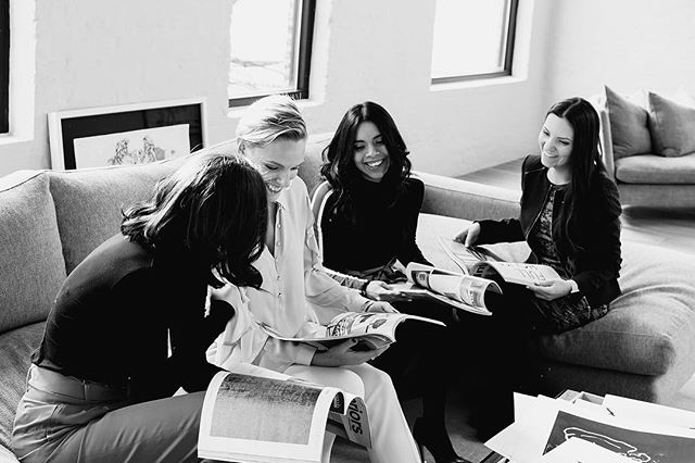 """If you want to go fast, go alone. If you want to go far, go together."" — African Proverb • • • Photo: @vibetribecreative  Location: @montauksofachicago  Hair/makeup: @salonedda  #team #teamworkmakesthedreamwork #lovewhatyoudo #wework #industrious #interiordesign #interiordesigner #chicago #startuplife #entrepreneurlife #instamood #mood #westloop #westloopbestloop #instaquote #quotesdaily"