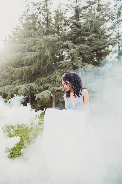 SMOKE BOMB   // ADRIANA GONZALEZ