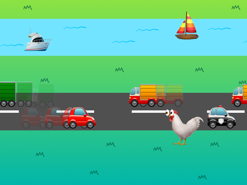 Make your own Crossy Road