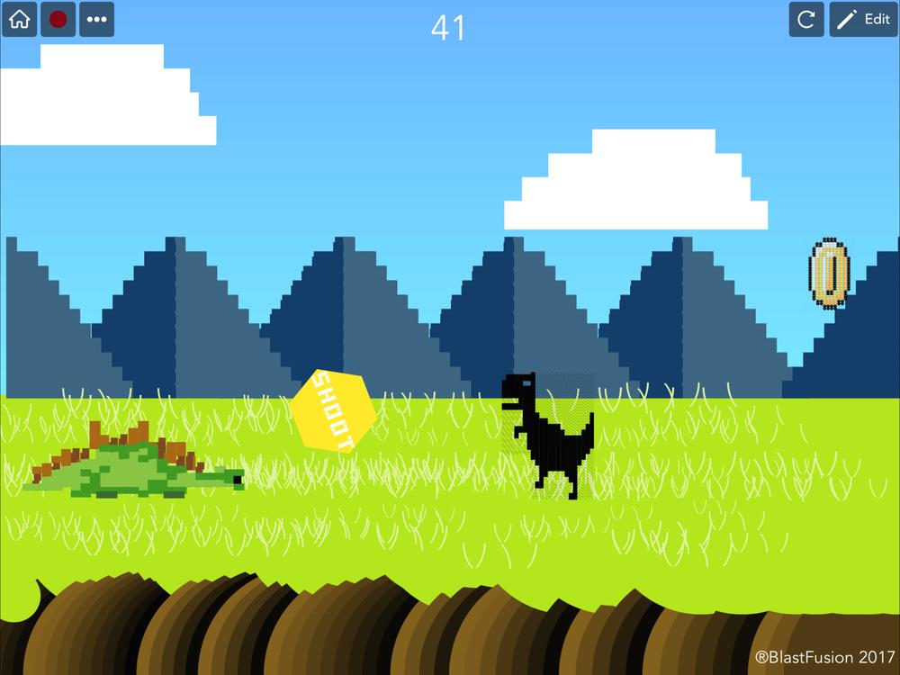 Dino Run! - by BlastFusion