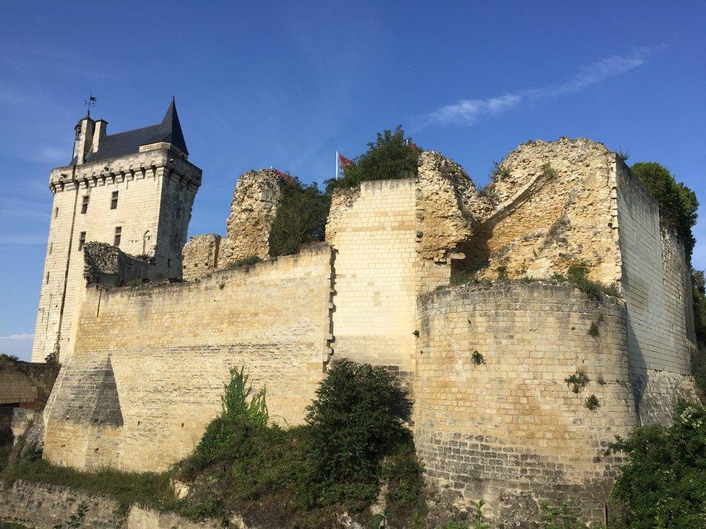 Chinon's château