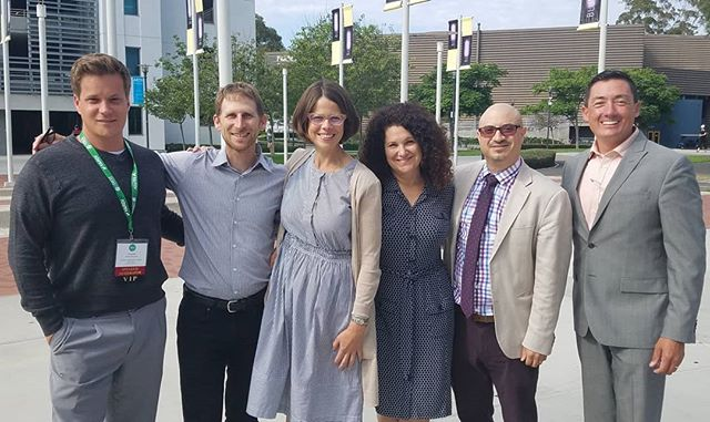 The EPIC -N workshop team: program directors Fletcher Alexander @rci_chico, Marc Schlossberg @sci_uo, Jessica Barlow @thesageprojectsdsu, guest speakers Laura Bloch and Jose Zambrana from @epagov and Mike James of @cityoflemongrove. @chicostate @thecsu