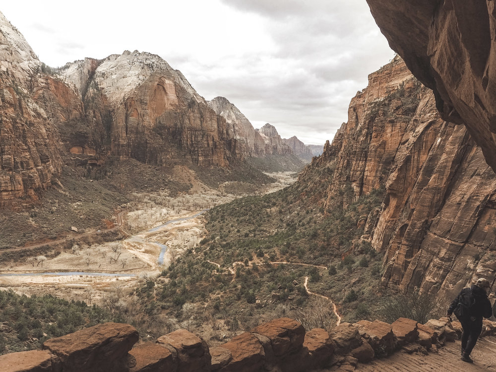 Zion National Park is one of the most popular stops in Utah. Hiking within a canyon means you have amazing views no matter where you are. Learn more about the best hikes and the most amazing scenic drive that first timers have to experience. #zionnationalpark #utah #hiking