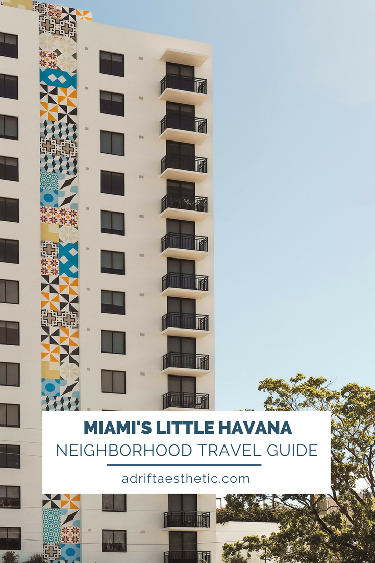 There is so much to do in Miami but if you want to feel like you've left the States, make sure you stop in the neighborhood of Little Havana. Here you'll find shops, restaurants and wonderful people celebrating their Cuban heritage. #florida #littlehavana #miami #travel