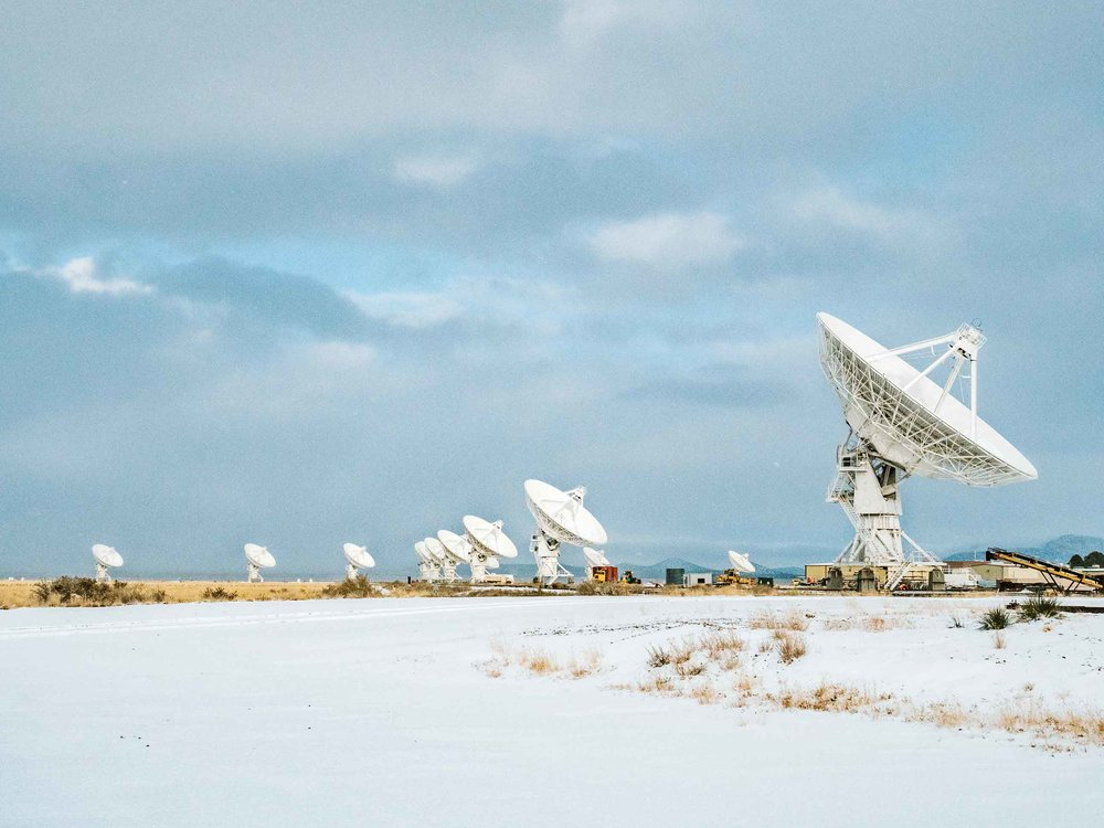 New Mexico is filled with amazing stops and destinations but visiting New Mexico definitely warrants a stop to the Very Large Array. The VLA is a field of 27 massive radio antennas that scan outer space to learn more about black holes and our galaxy. Take the self-guided tour and get up close and personal with these technological feats! #newmexico #travel #vla