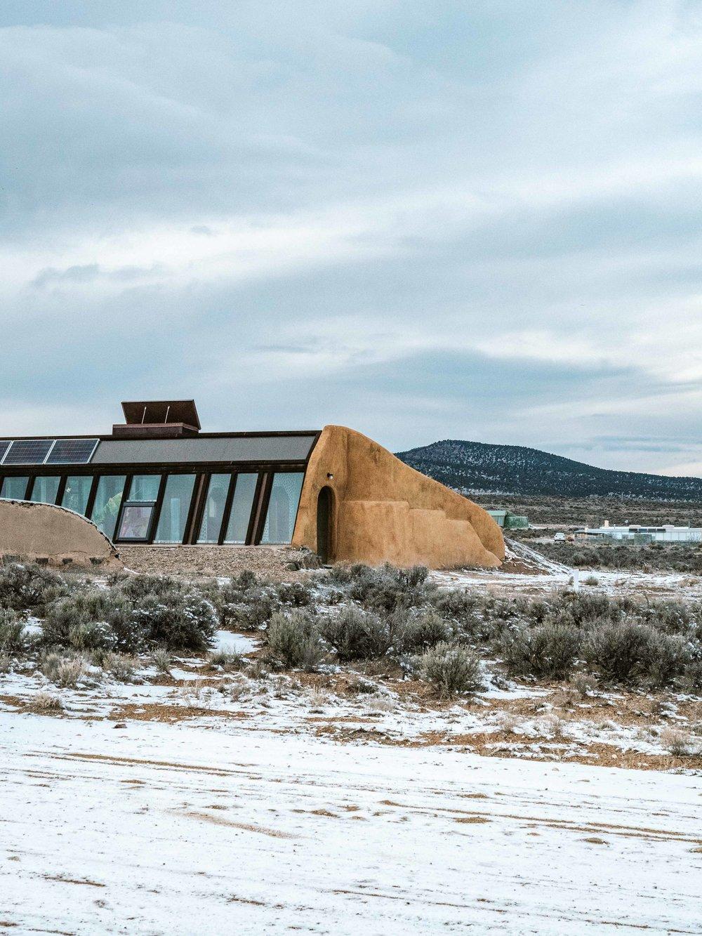 Earthship House Taos NM