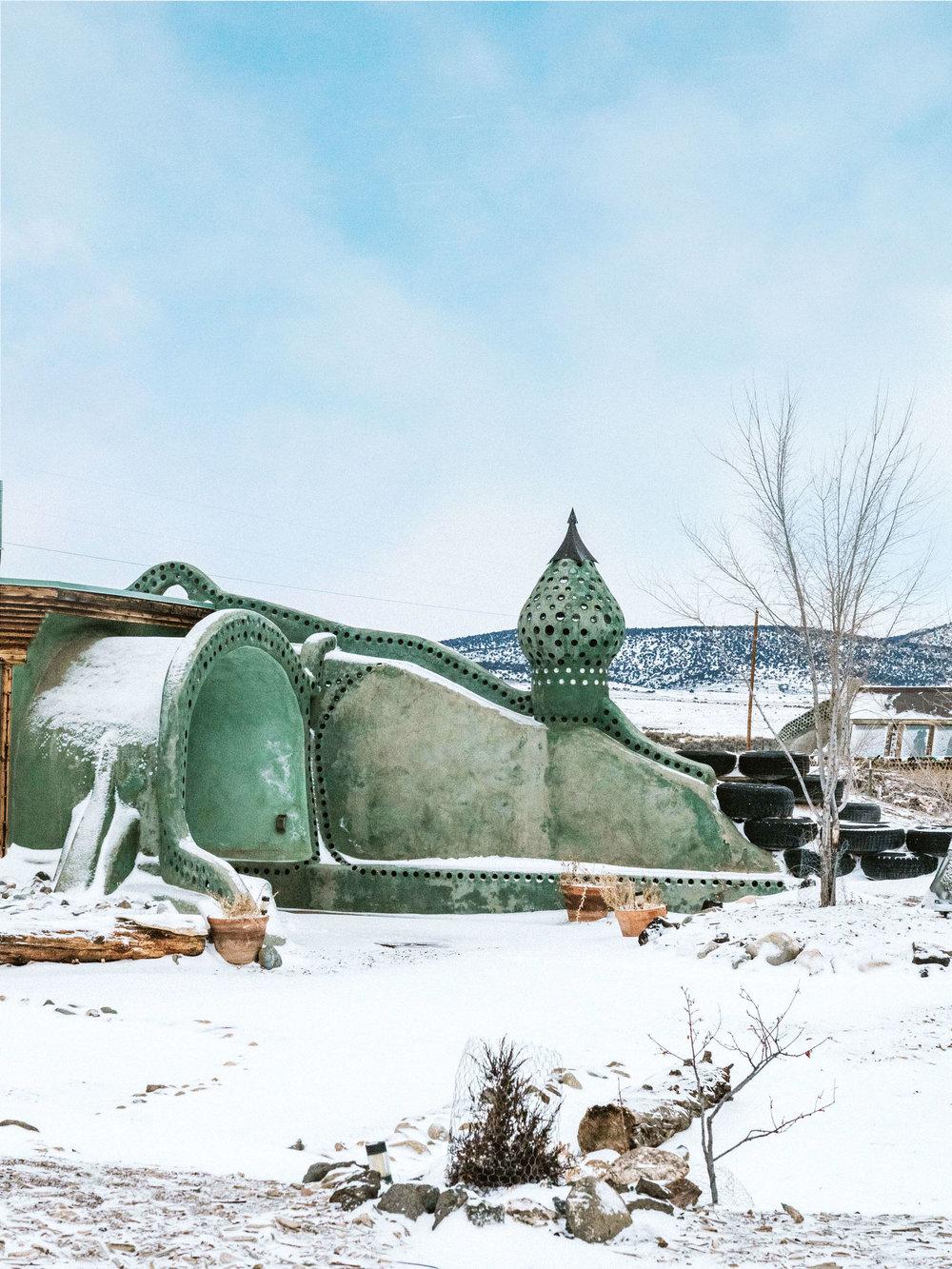 Earthship Biotecture Taos NM
