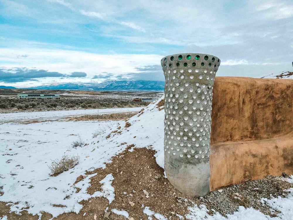 Earthship Houses Taos New Mexico