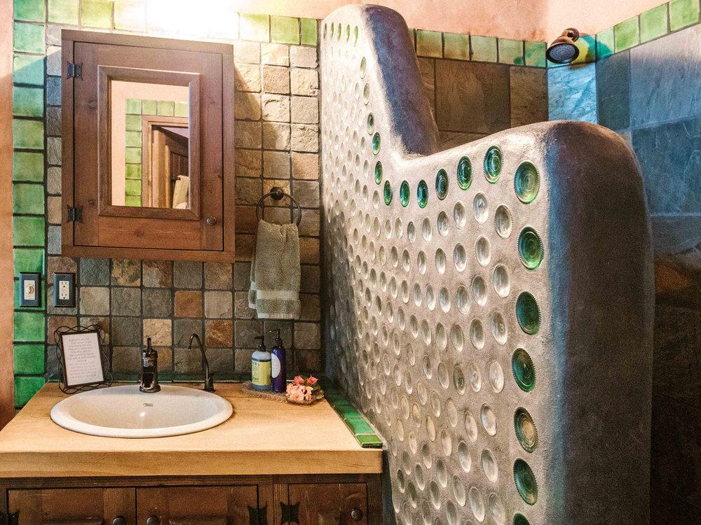 Earthship Bathroom Interior Design