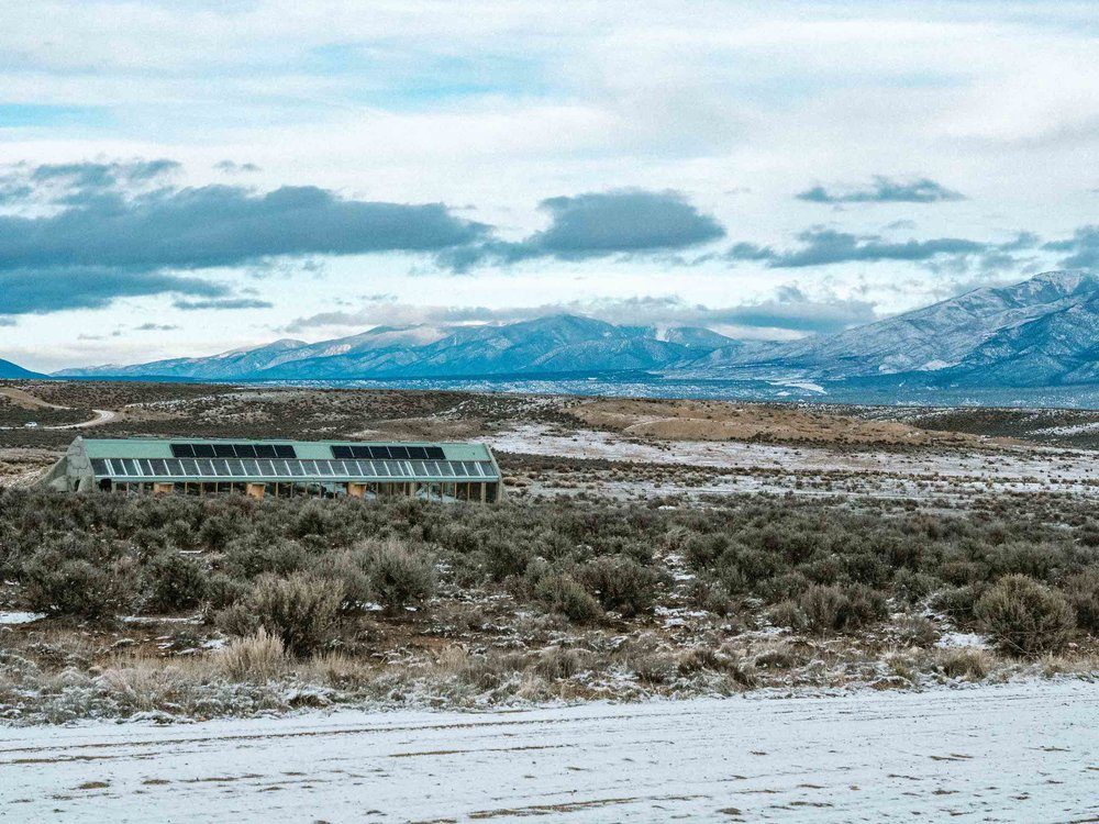 Earthship Taos Ski Valley New Mexico