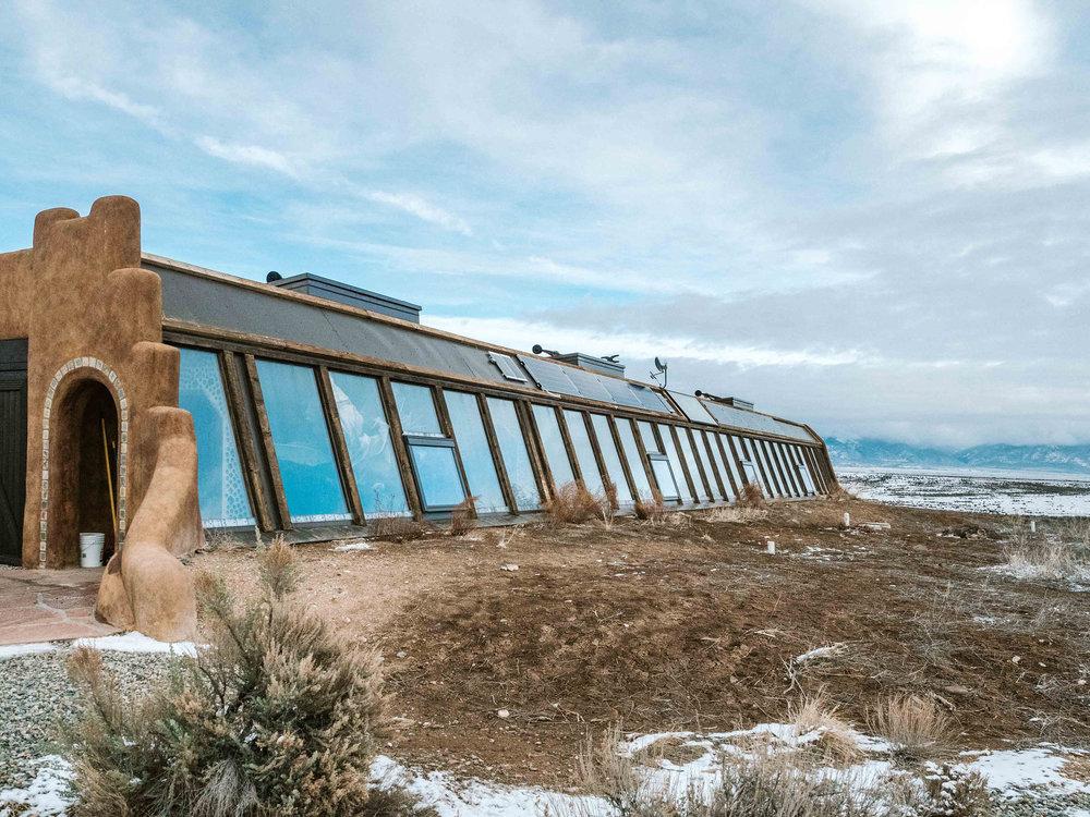 Taos New Mexico Earthship