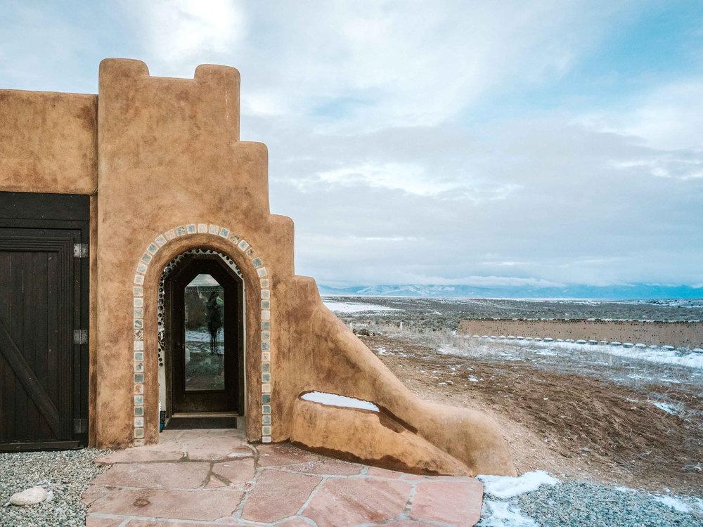 Earthship Home Taos New Mexico
