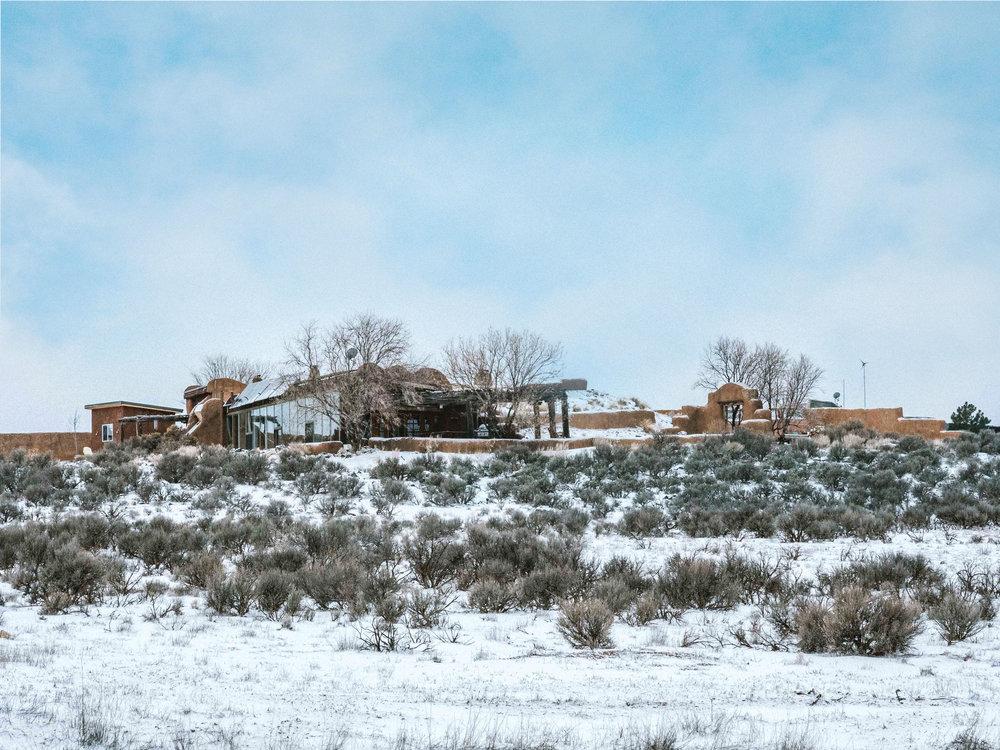 Earthship Community Taos New Mexico
