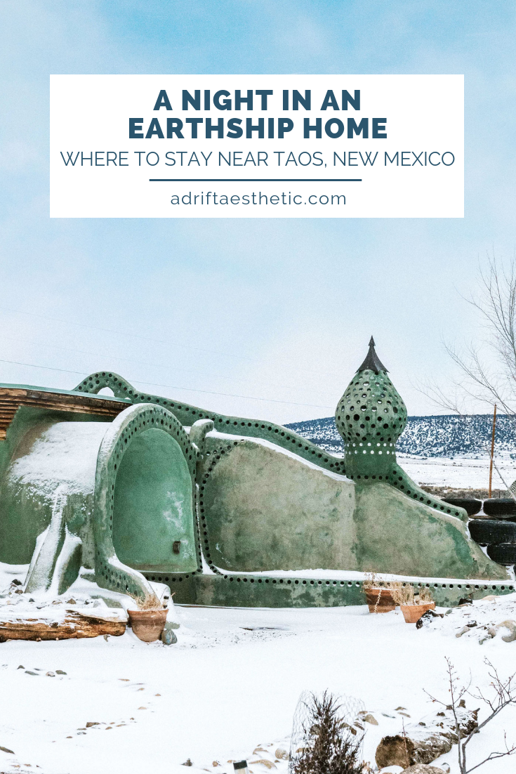 The Earthship community outside of Taos, New Mexico will change the way you look at houses and your carbon footprint. Rent through AirBNB to stay overnight in one of these beautiful homes that are completely self-sustaining, creating their own heat, air conditioning, electricity and water filtration solutions. Made from sustainable materials as well, these homes have such a unique look. Make sure you check out this green community as you're traveling through northern New Mexico! #travel #newmexico #taos