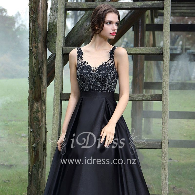 black-floral-lace-satin-sleeveless-illusion-boat-neck-a-line-long-prom-dress-1.jpg