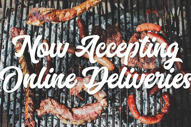 Did you know that you can order online, and have our barbecue delivered straight to your door? 🚪 We are on all the apps @grubhub @amazon @ubereats @postmates @doordash_chi @eat24 & Much more!