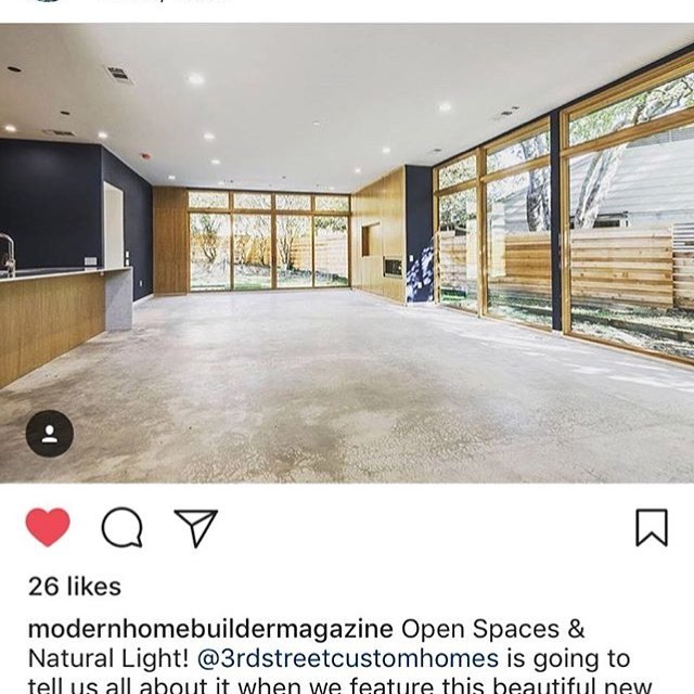 Excited for my last project to get published. @3rdstreetcustomhomes #moderarchitecture ##dallashomes #dallasluxury #texasluxuryhomes #texasluxury