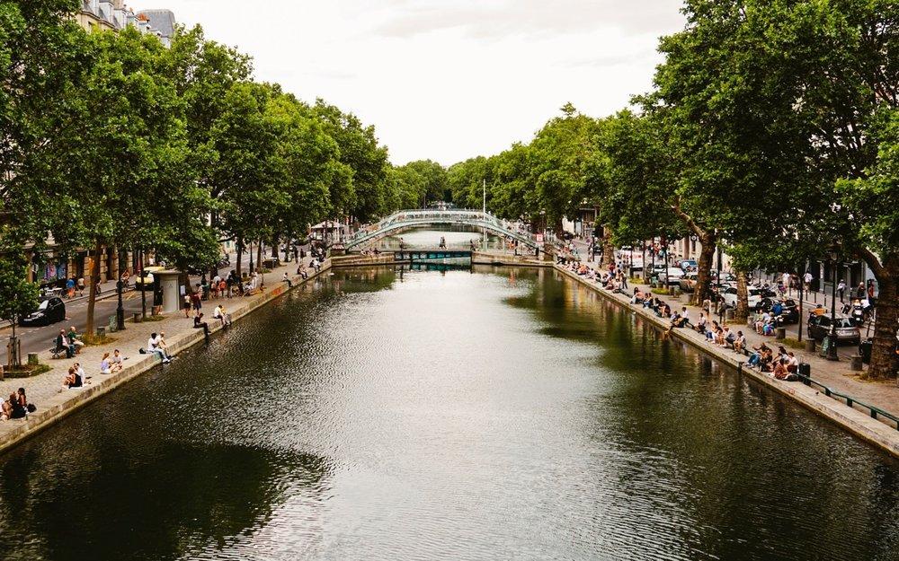 Airbnb Paris - Cruising the Canal St. Martin.jpg