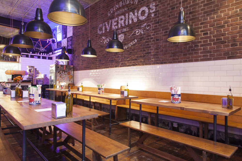 CIVERINO'S | PRIORITY BOOKING    Where:  Edinburgh  What:  Priority booking for  i-on  Members  When:  Ongoing  How:  Call and quote ' i-on  Members' Club' then show your  i-on  Members' Club ID on arrival. Failure to show valid ID may result in losing your booking  Why:  Civerinos normally operates a no bookings policy for parties under six
