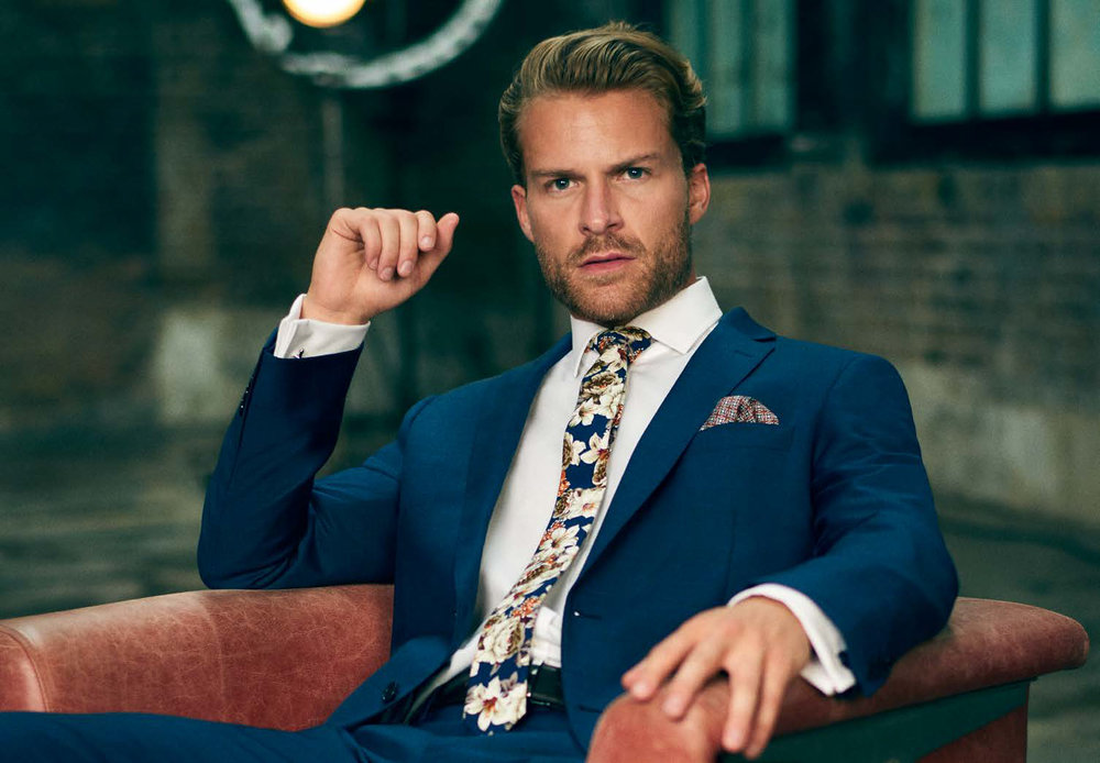 Up to 50% off suits and shirts -