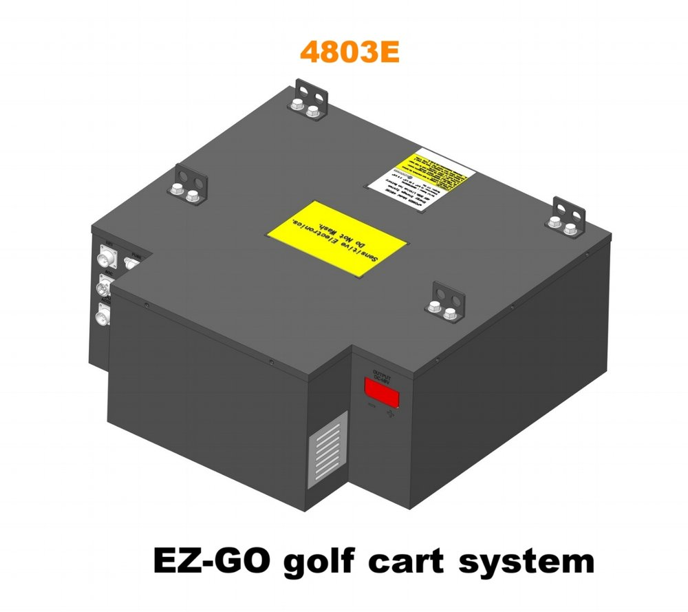 Golf Cart Lithium Ion Battery Systems Elite Power Solutions Simple Charger Circuit With Indicator It Is To Install And Use Includes An On Off Switch A State Of Charge Soc Gauge Dc Main Connector Ac Input Socket