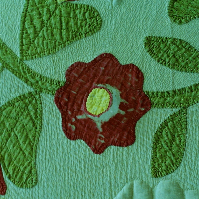 Before repairs: - This quilt...