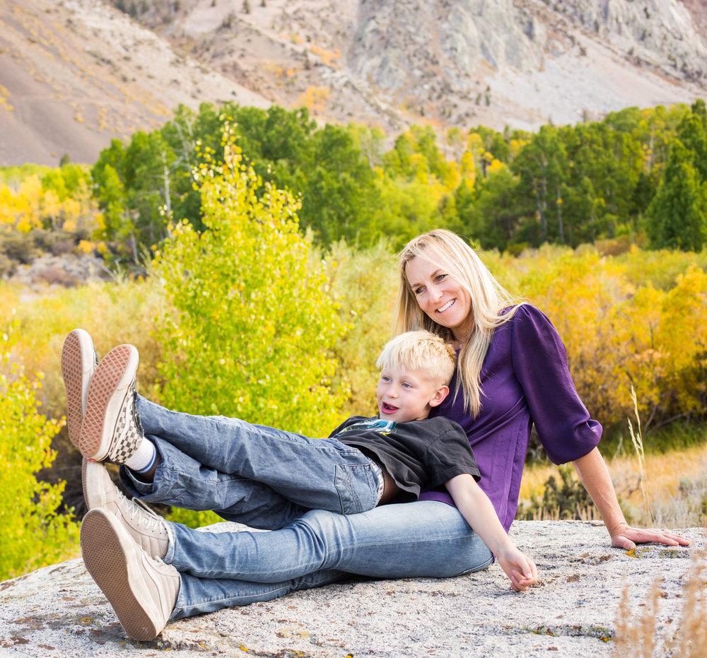 Keri Davis with Soren Davis