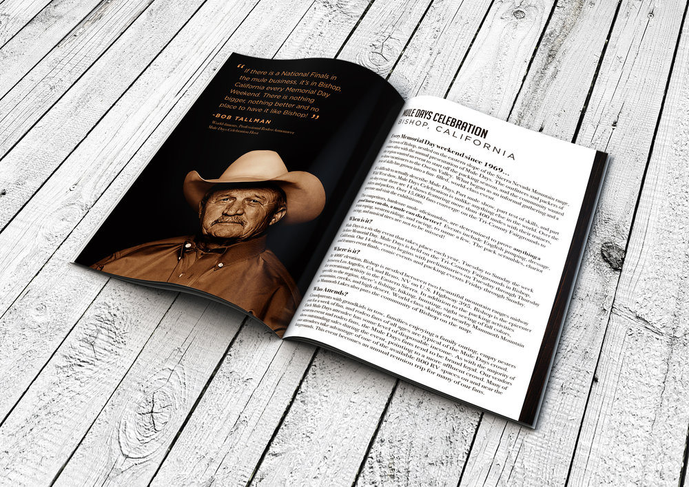 Mule Days 2018 Booklet Inner Pages