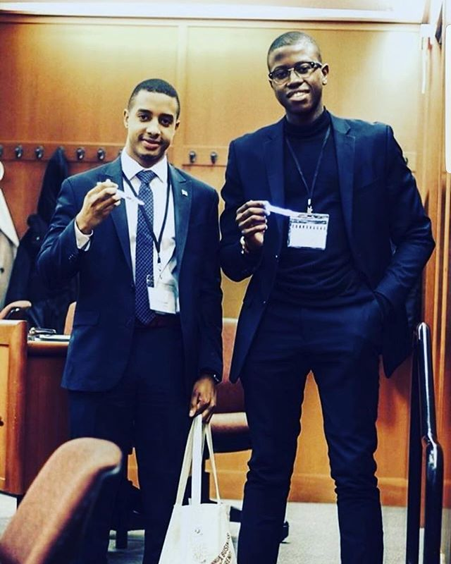 #FlashbackFriday of the Bright Future team promoting the Firefly Pen at the Harvard Business School. It was more fun than we can explain!